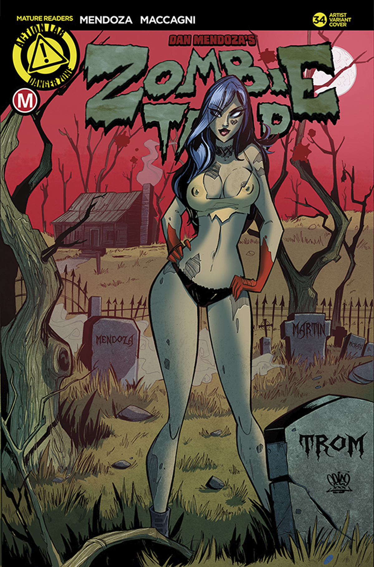 ZOMBIE TRAMP ONGOING #34 CVR E TROM