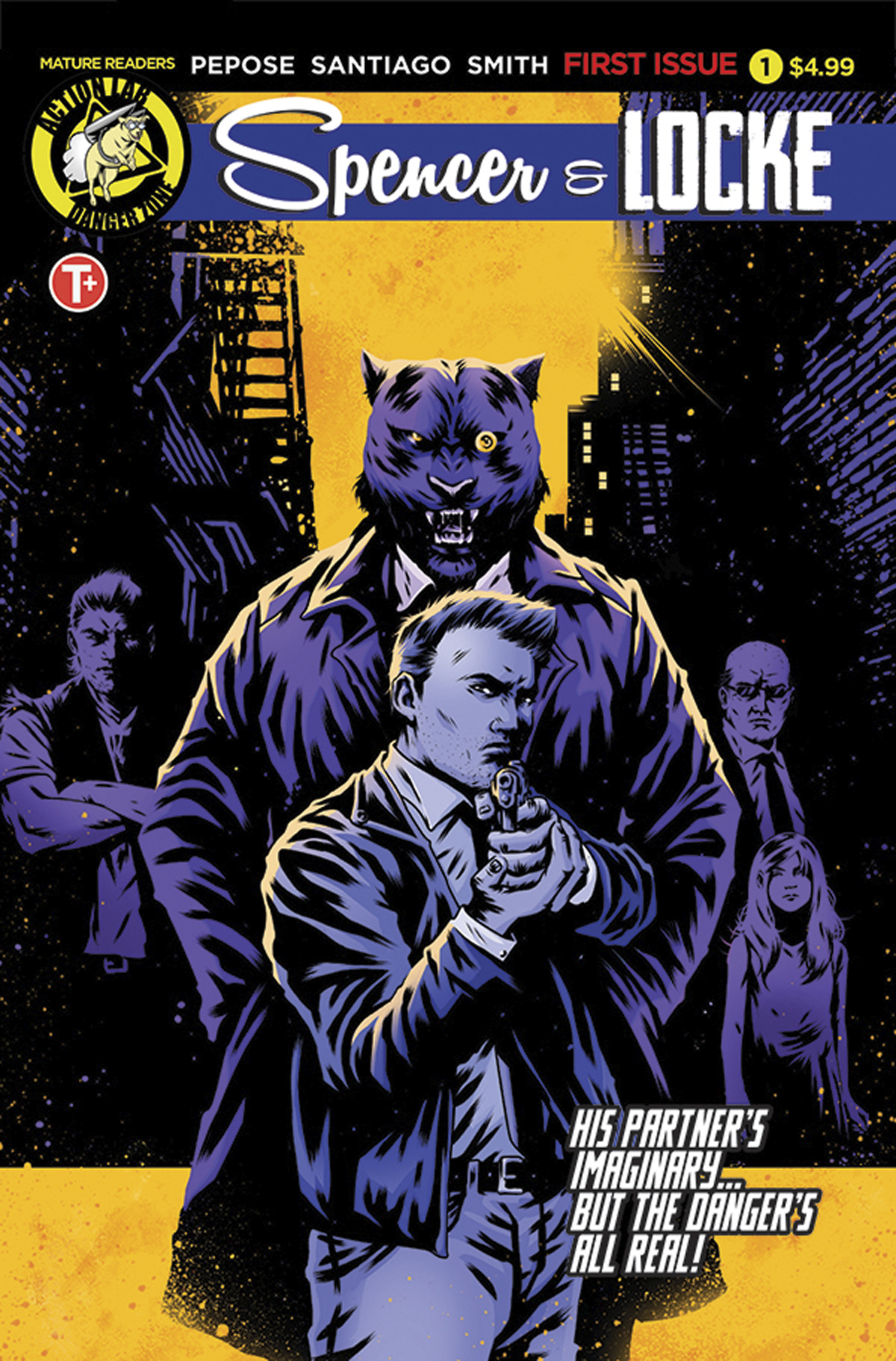 SPENCER AND LOCKE #1 (OF 4) CVR B HOUSE