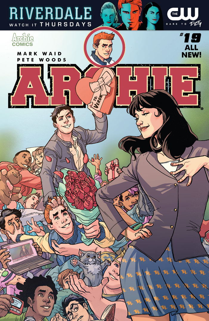FEB171187 - ARCHIE #19 CVR A REG PETE WOODS - Previews World