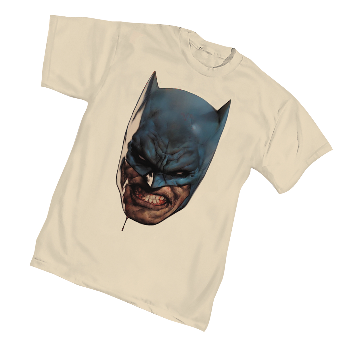 BATMAN ALL-STAR FACE T/S LG