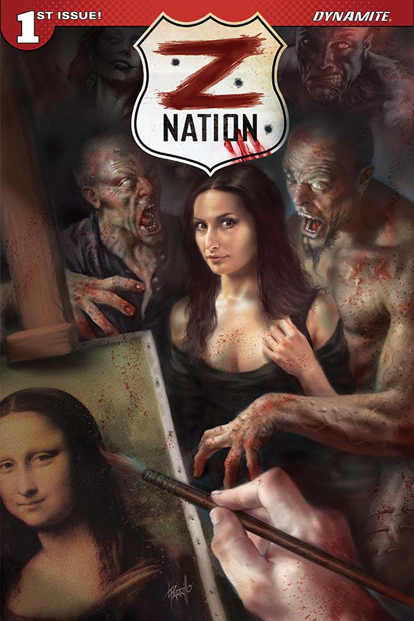 Z NATION #1 CVR B PARRILLO