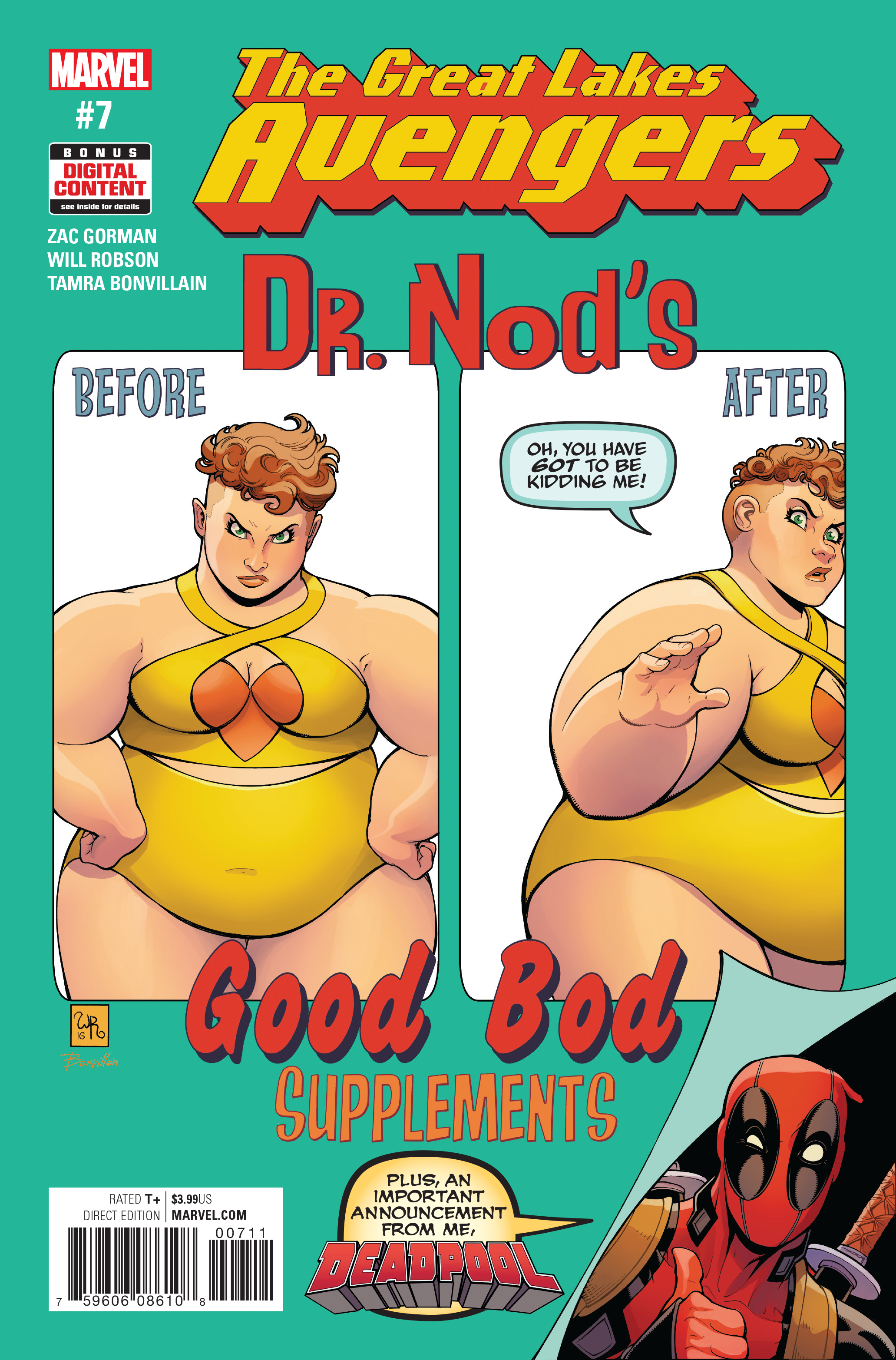 GREAT LAKES AVENGERS #7