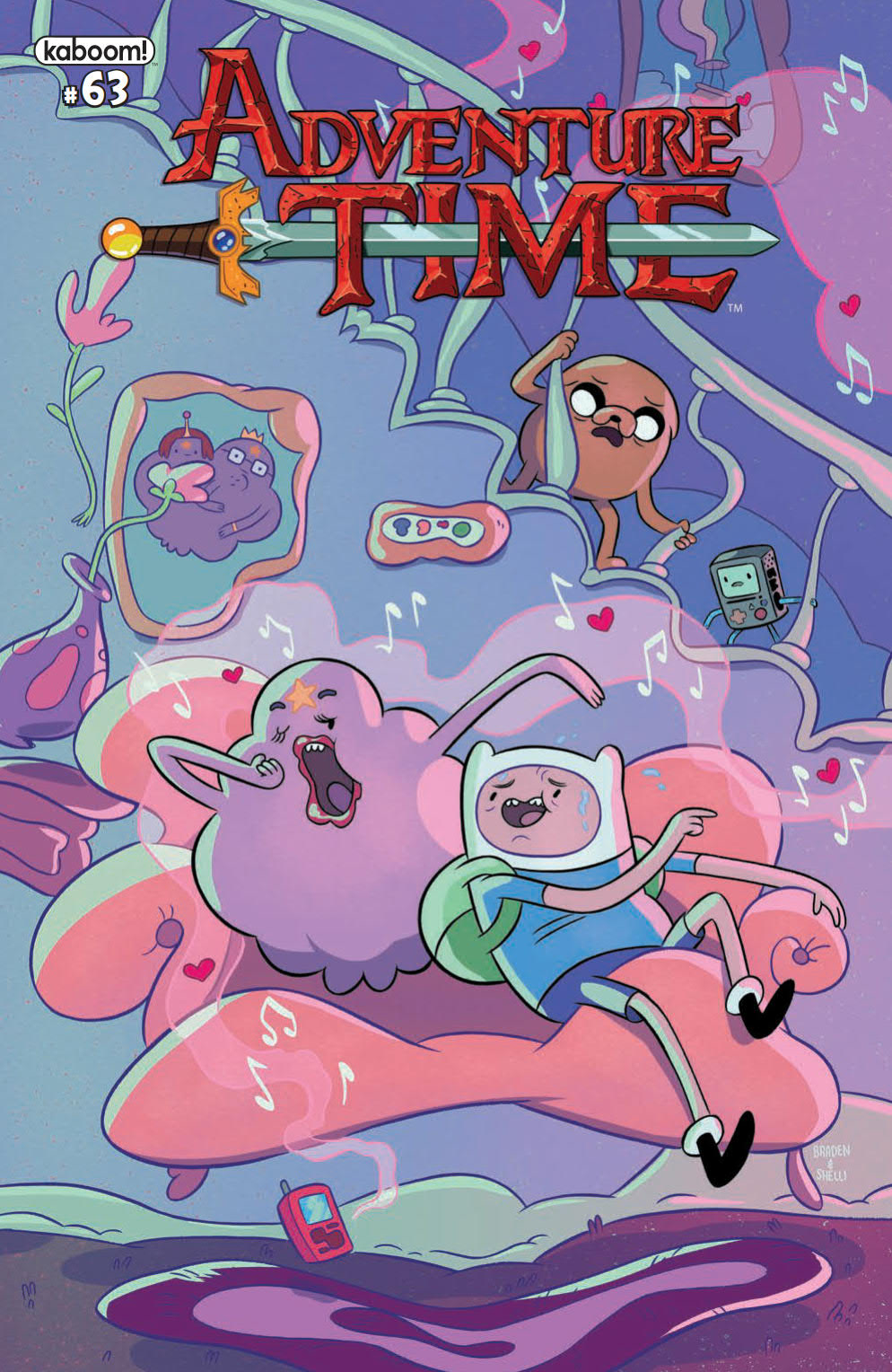 ADVENTURE TIME #63 CVR A PAROLINE & LAMB