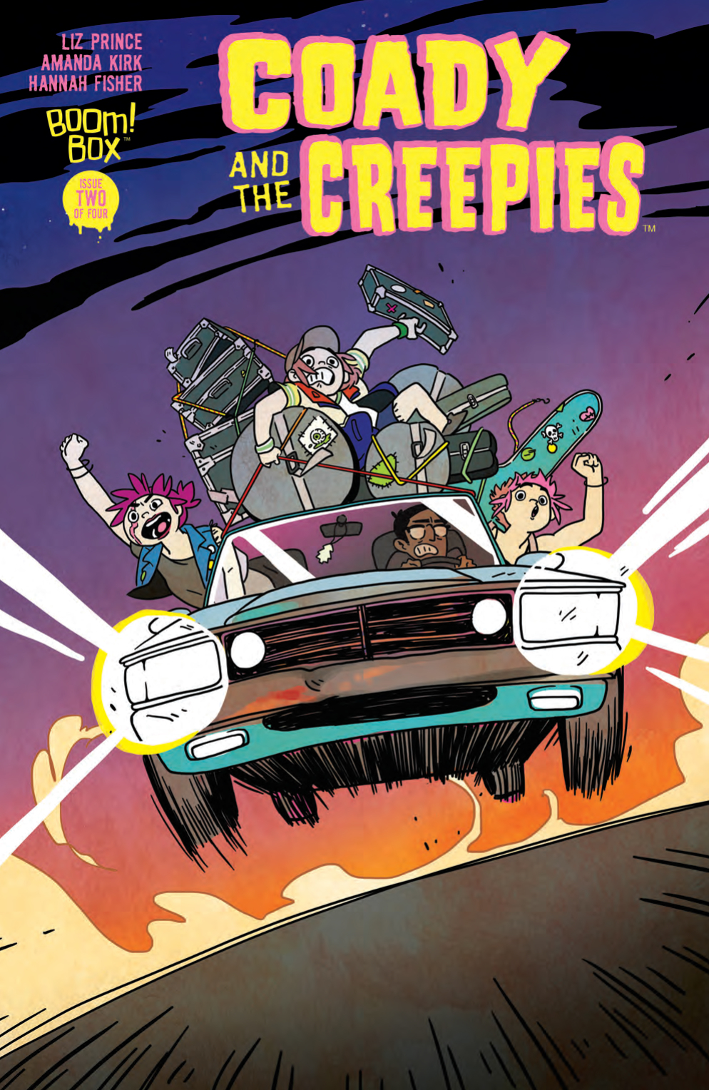 COADY & THE CREEPIES #2