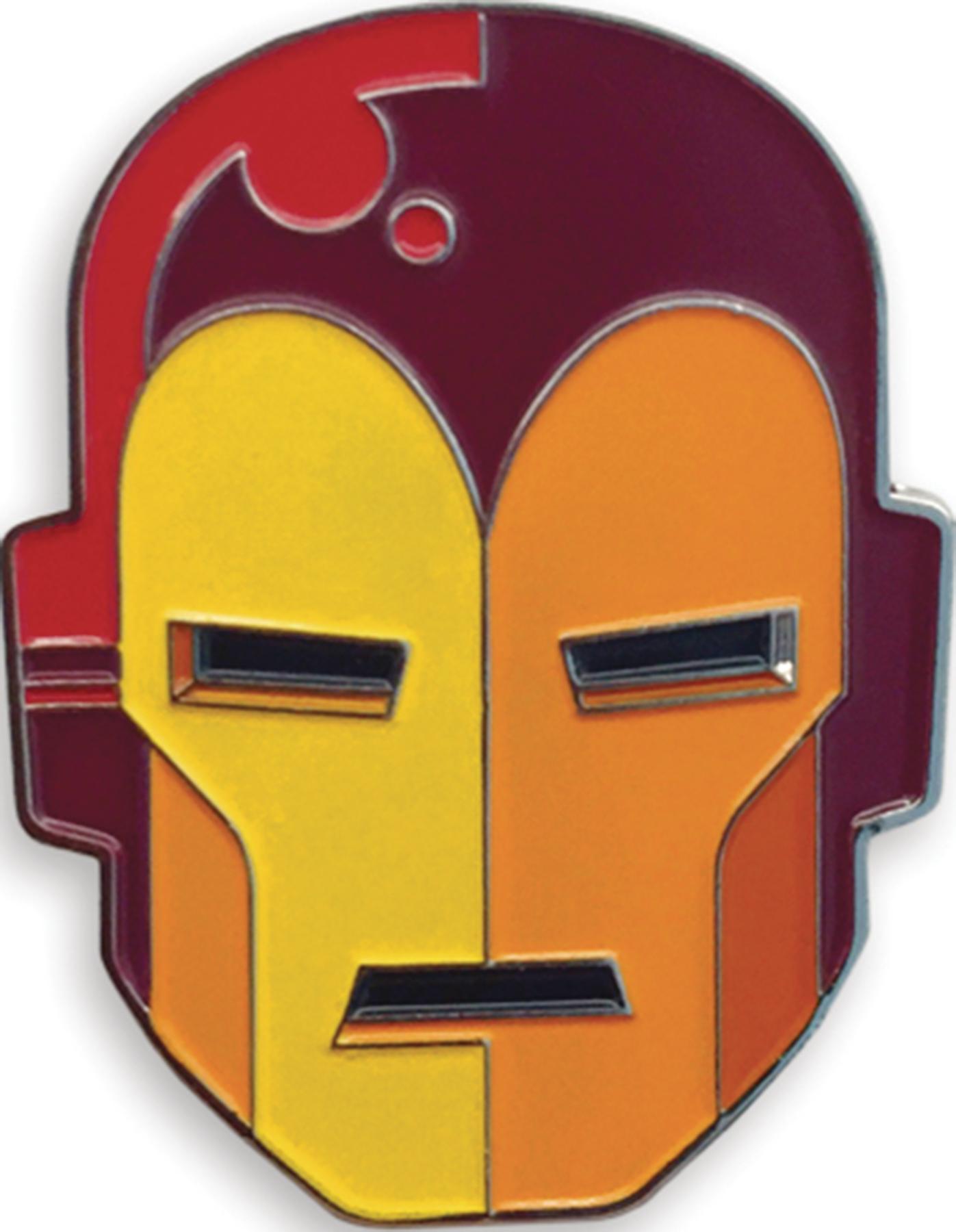 NOV168985 - MONDO X MARVEL COMICS IRON MAN ENAMEL PIN - Previews World