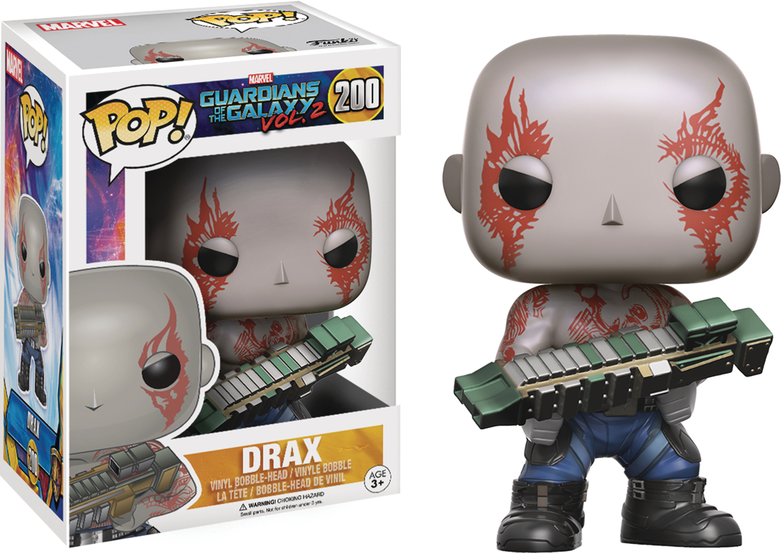 POP GUARDIANS OF THE GALAXY VOL2 DRAX VINYL FIG