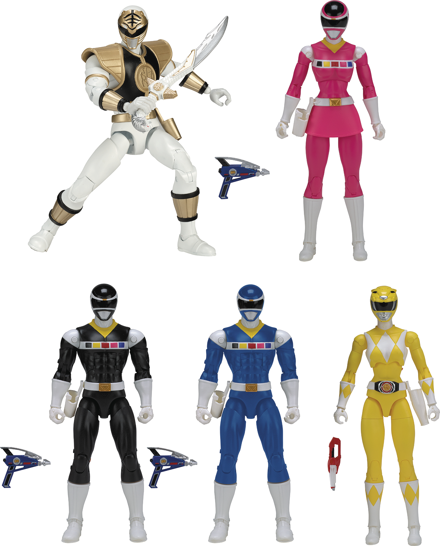POWER RANGERS LEGACY 6IN AF ASST C
