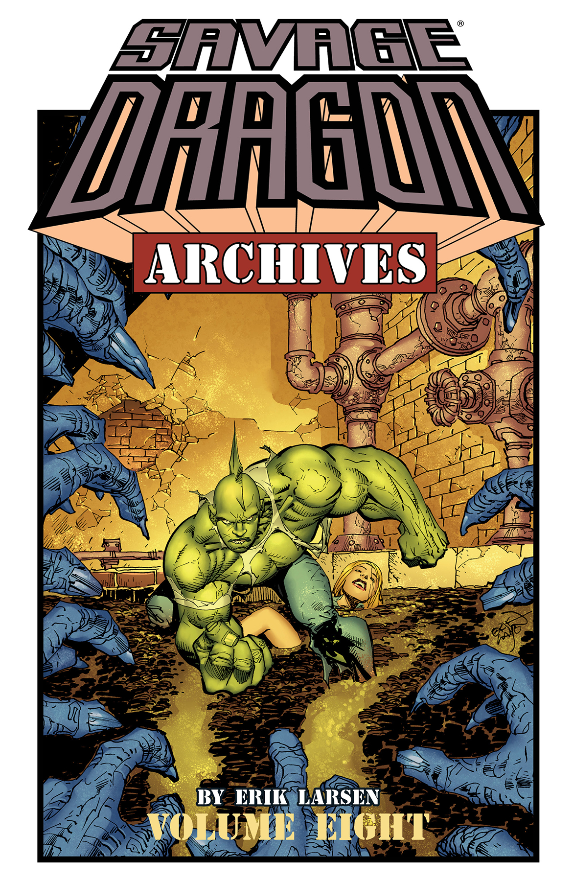 SAVAGE DRAGON ARCHIVES TP VOL 08 (FEB170740) (MR)