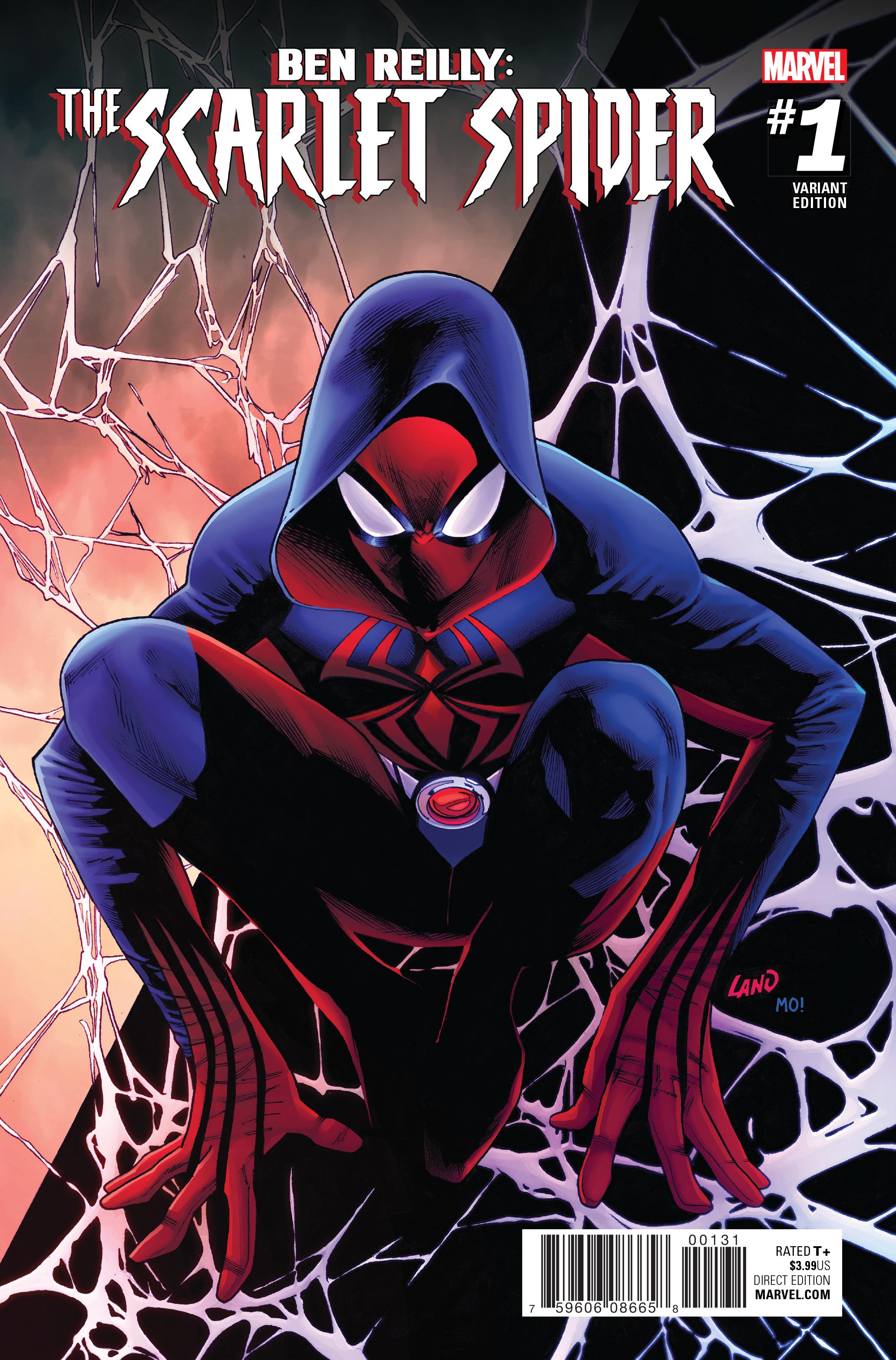 FEB170799 - BEN REILLY SCARLET SPIDER #1 LAND VAR ...