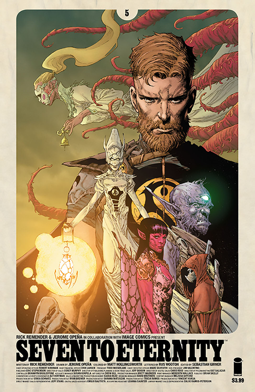 SEVEN TO ETERNITY #5 CVR A OPENA & HOLLINGSWORTH