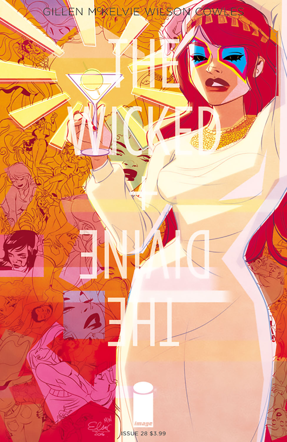 WICKED & DIVINE #28 CVR B CHARRETIER (MR)