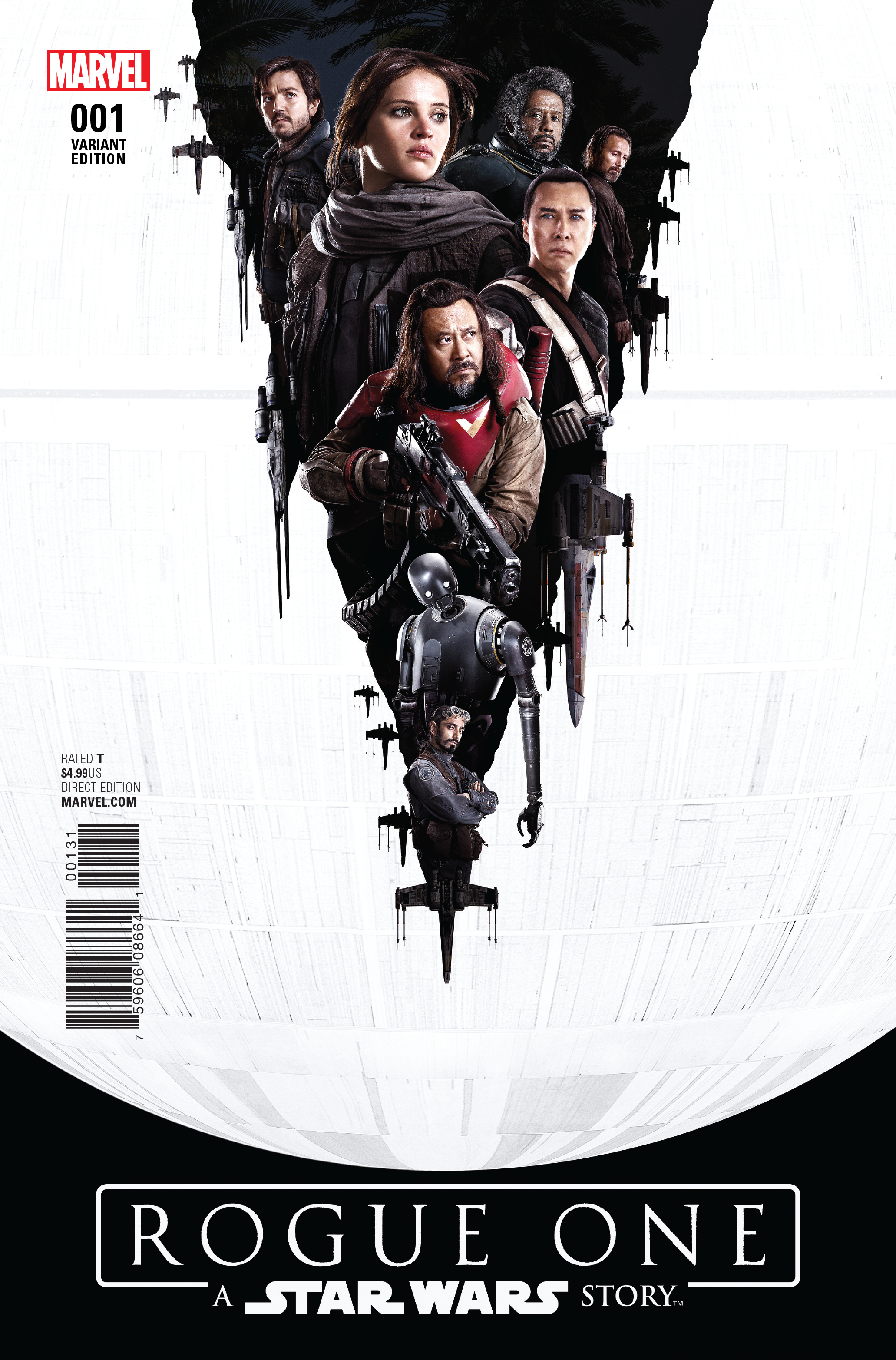 STAR WARS ROGUE ONE ADAPTATION #1