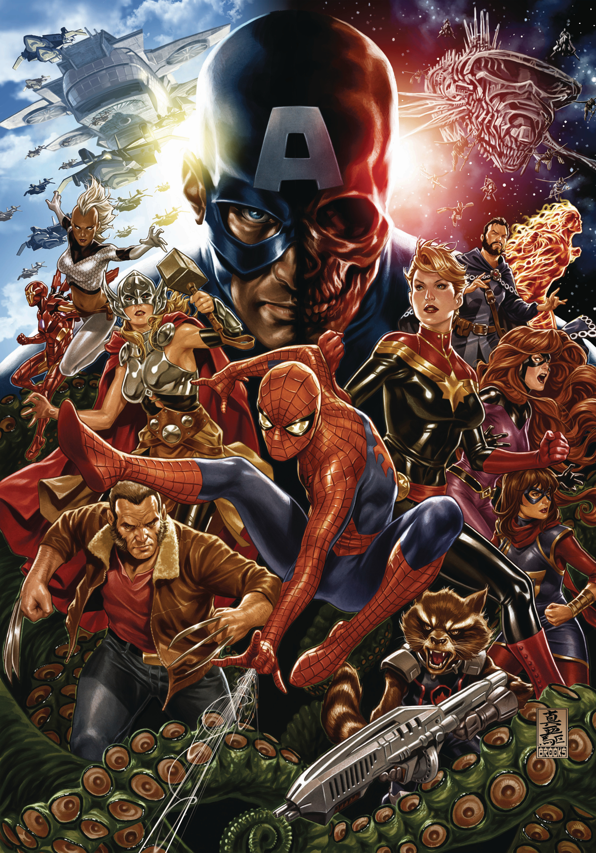 SECRET EMPIRE #1 POSTER