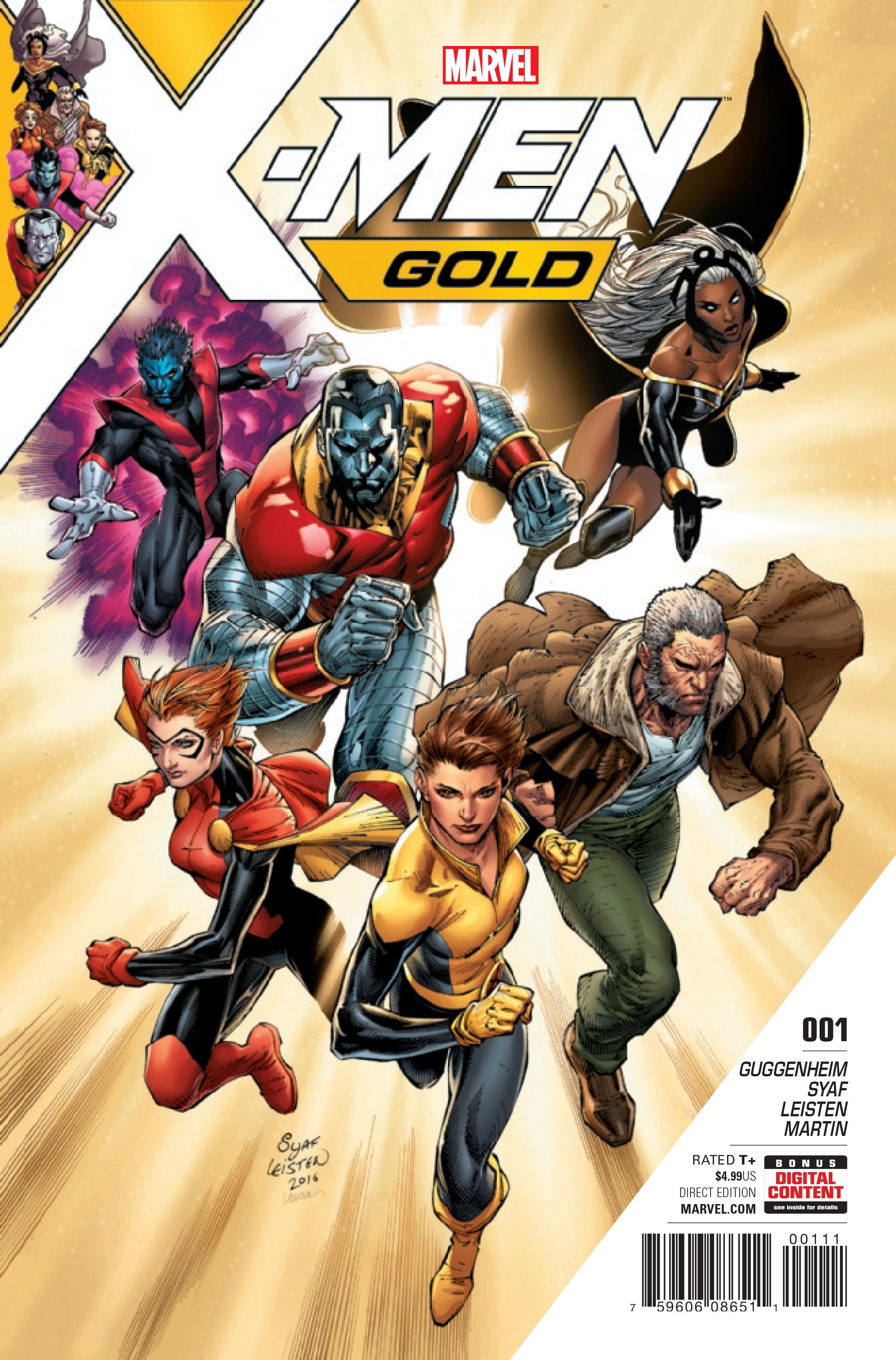 Resultado de imagem para X-Men: Gold 1