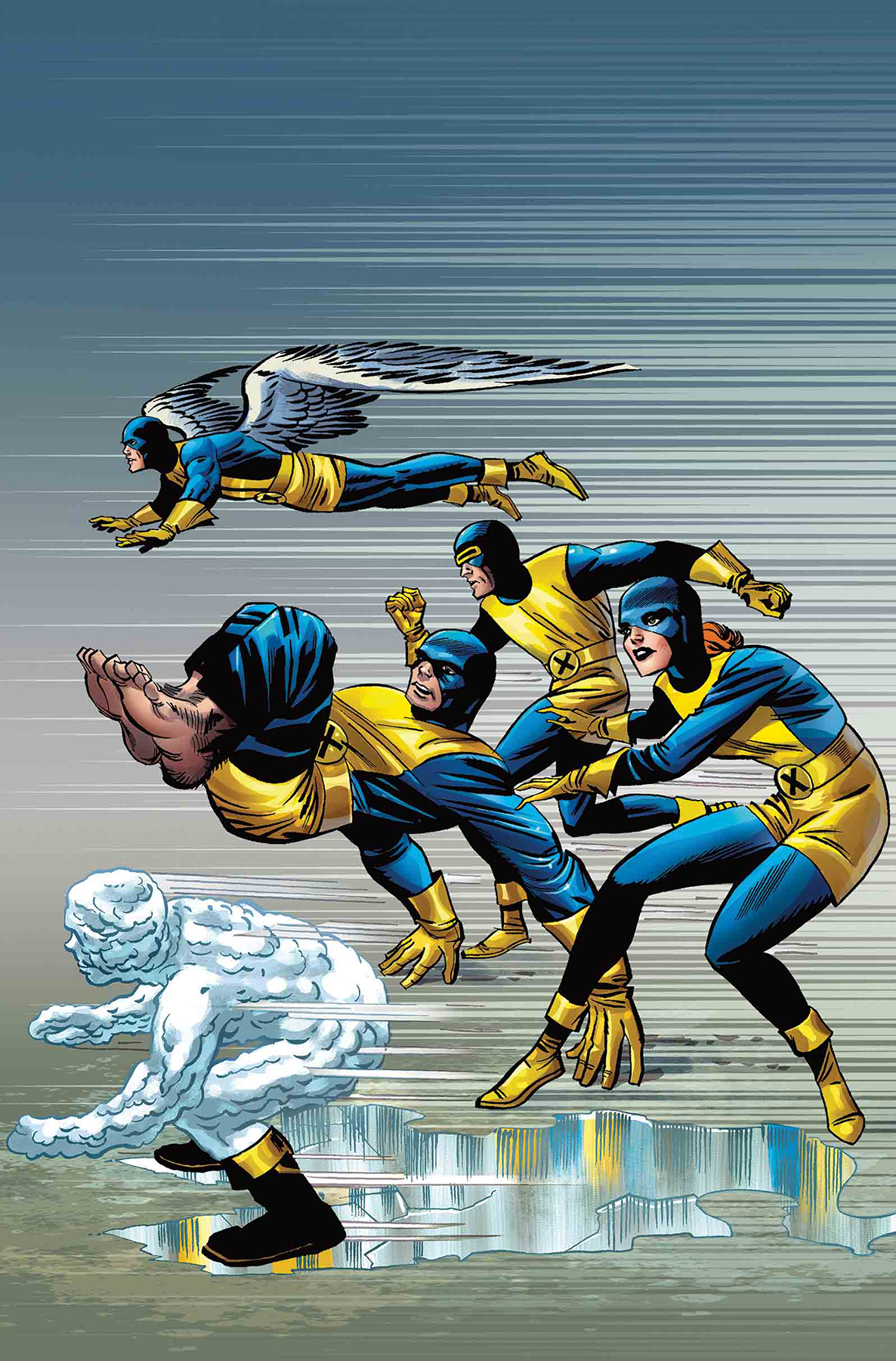 X-MEN BLUE #1 KIRBY 100TH VAR