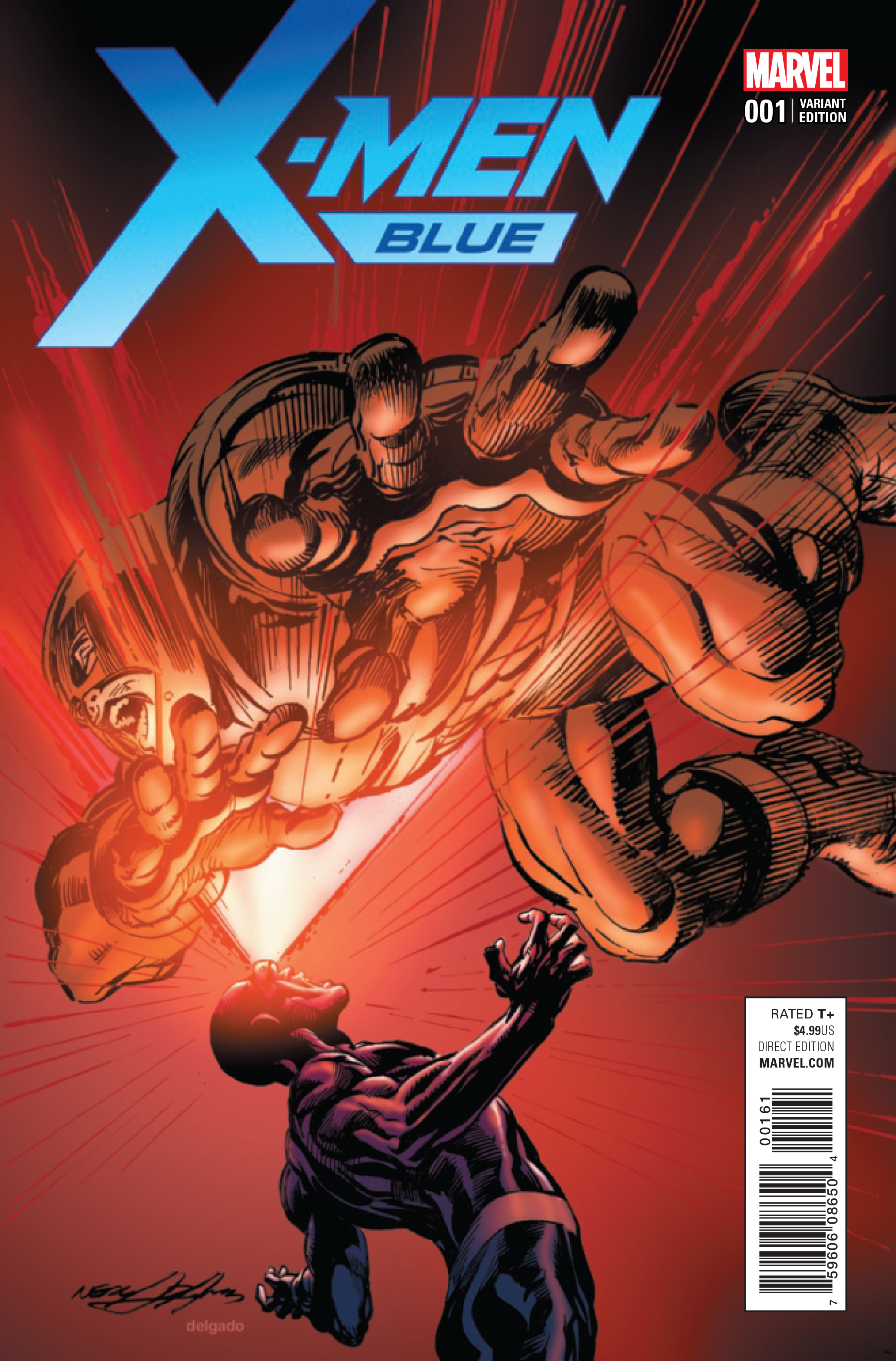 X-MEN BLUE #1 N ADAMS VAR