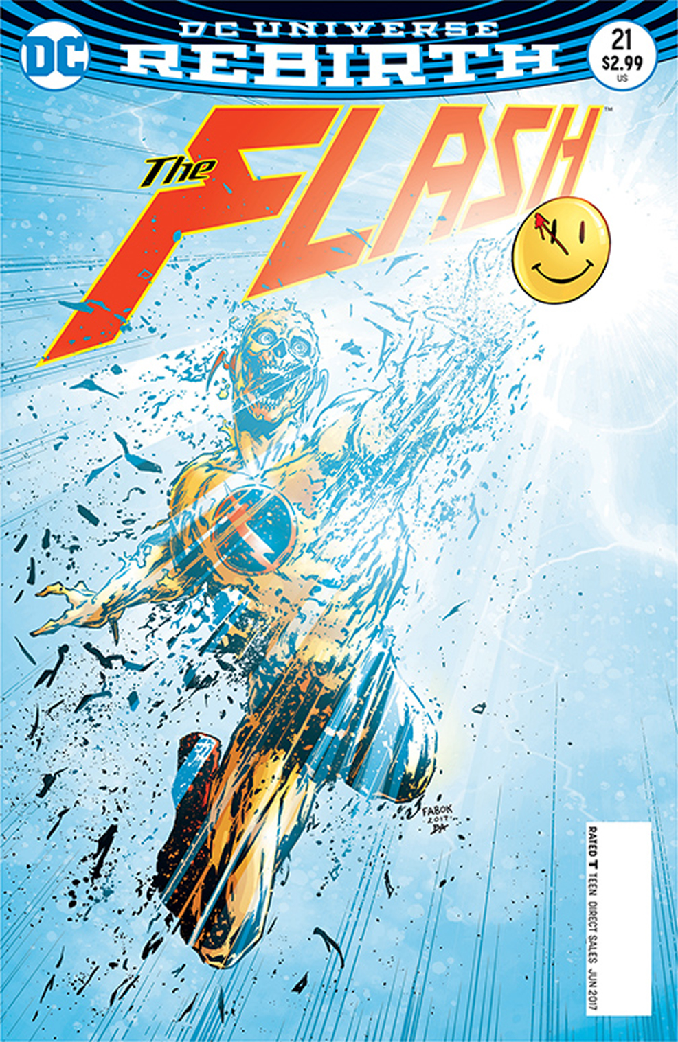 Image result for the flash #21 the button Cover