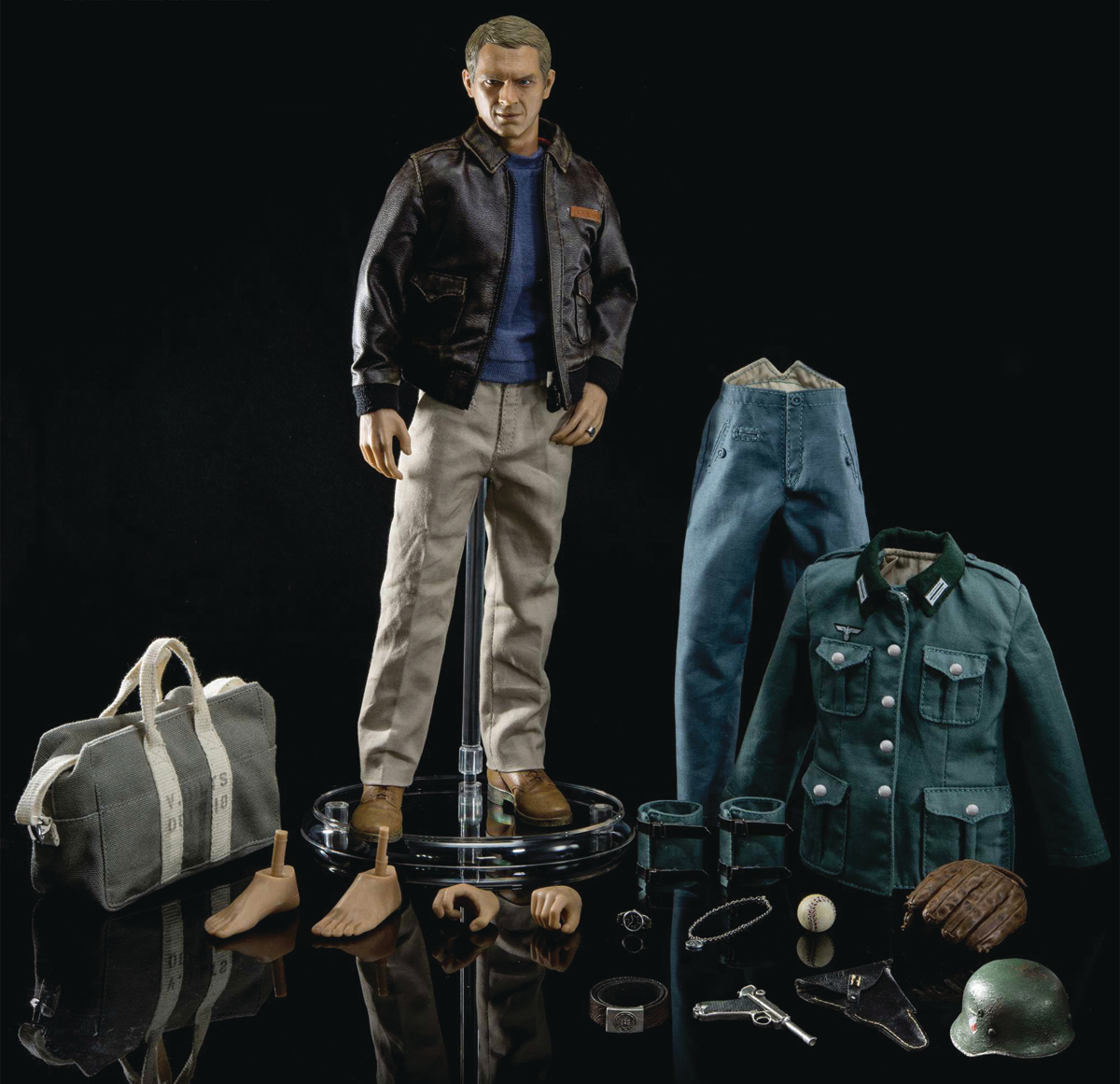 GREAT ESCAPE 1/6 STEVE MCQUEEN AF DELUXE EDITION