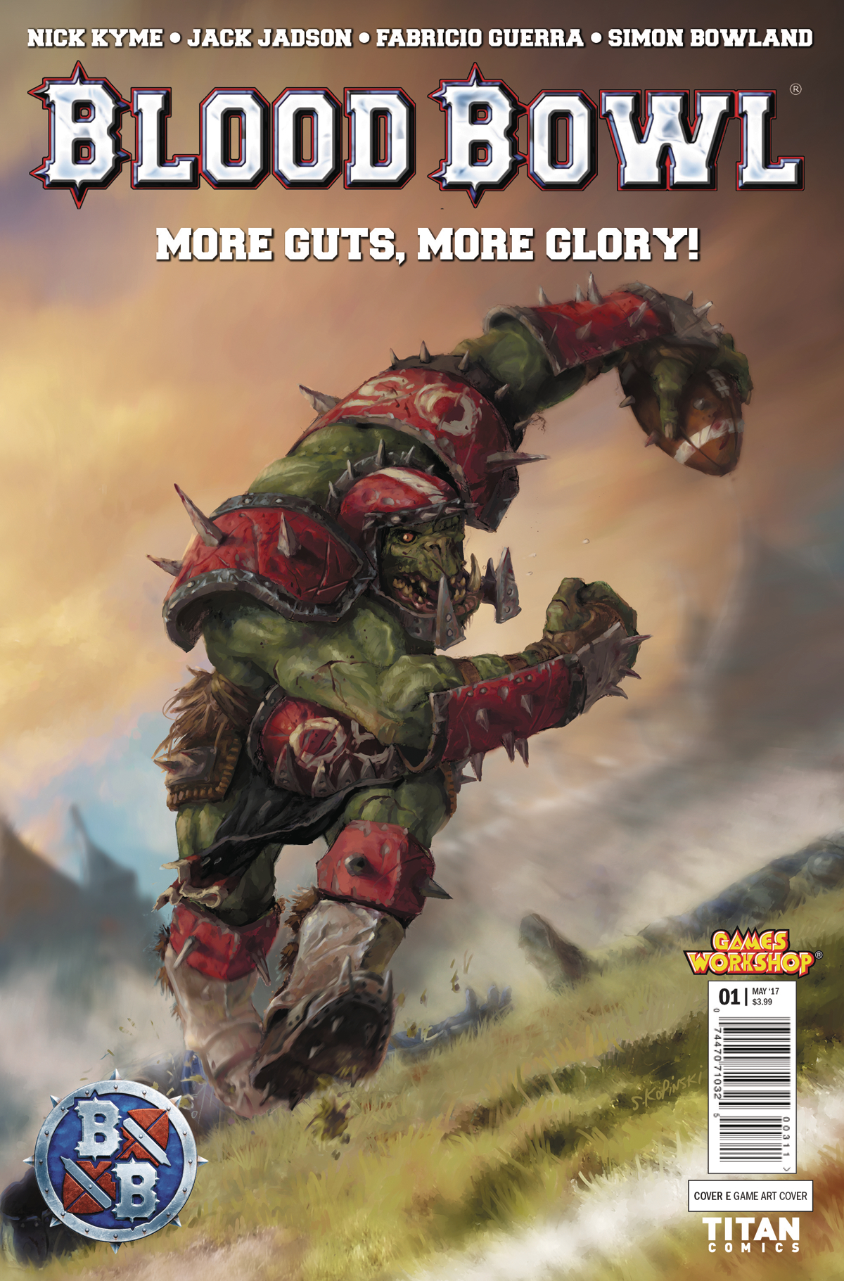 BLOOD BOWL MORE GUTS MORE GLORY #1