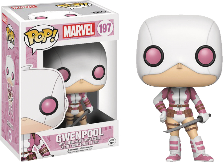 POP MARVEL GWENPOOL VINYL FIG