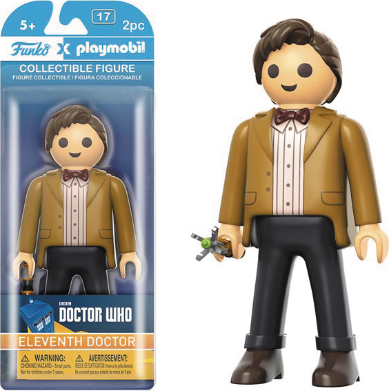 PLAYMOBIL DOCTOR WHO 11TH DOCTOR FIG
