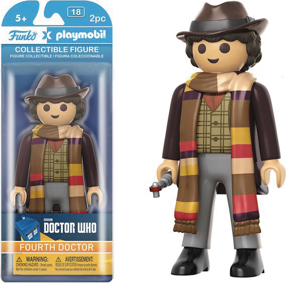 PLAYMOBIL DOCTOR WHO 4TH DOCTOR FIG