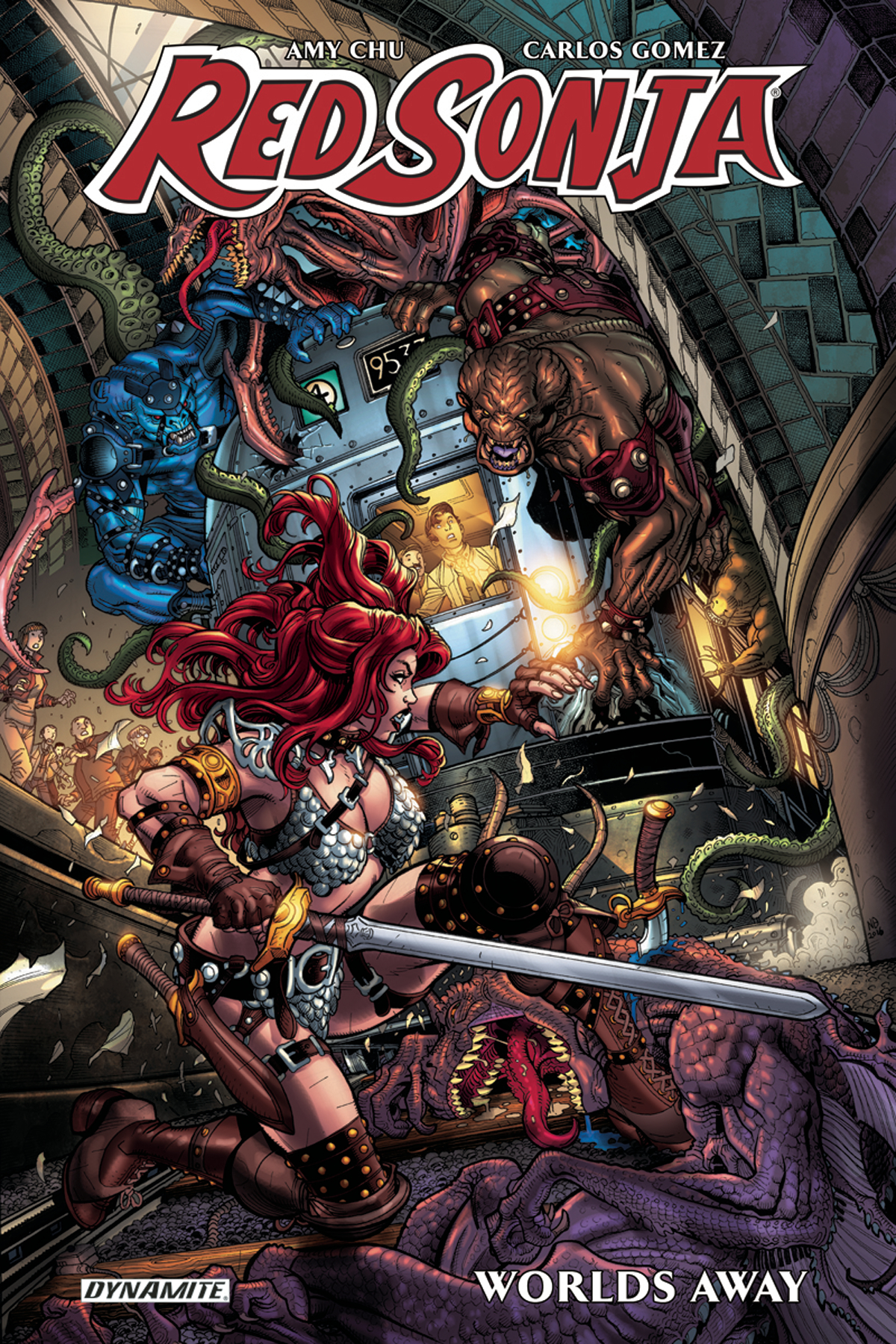 RED SONJA WORLDS AWAY TP VOL 01