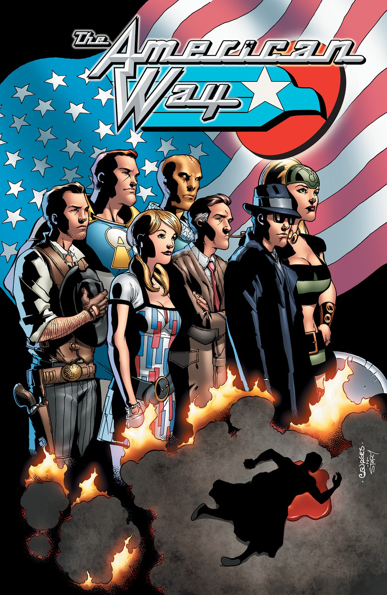 AMERICAN WAY 10TH ANNIVERSARY EDITION TP (MAR170449) (MR)