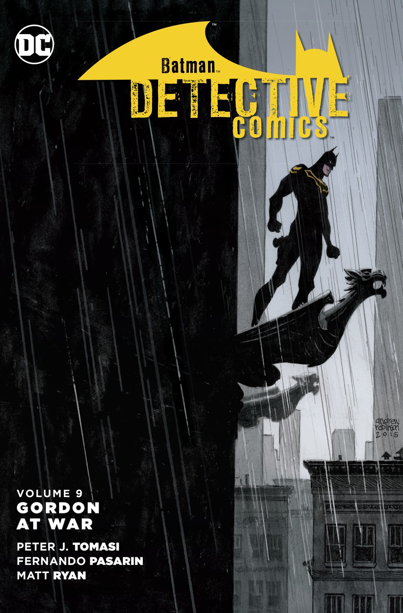 BATMAN DETECTIVE COMICS TP VOL 09 GORDON AT WAR