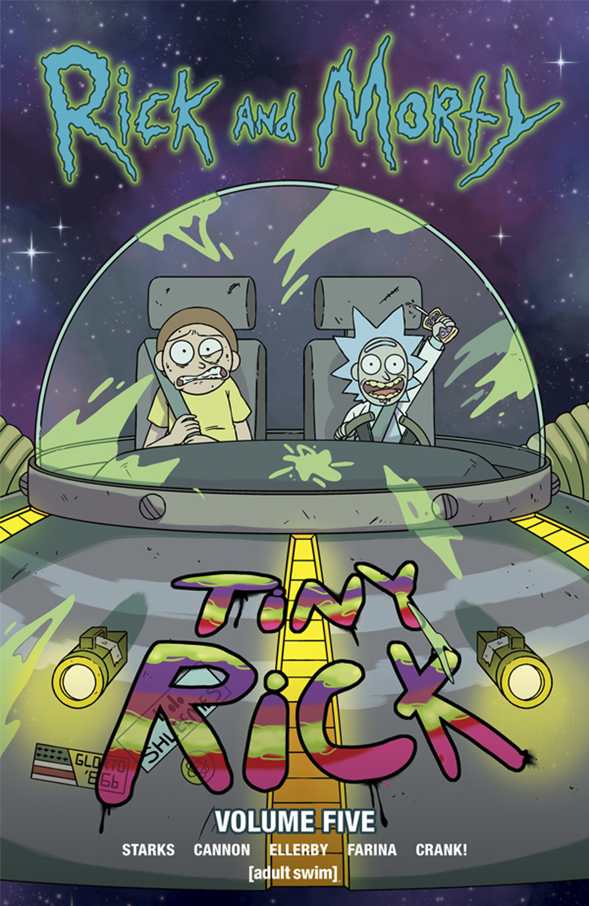 RICK & MORTY TP VOL 05