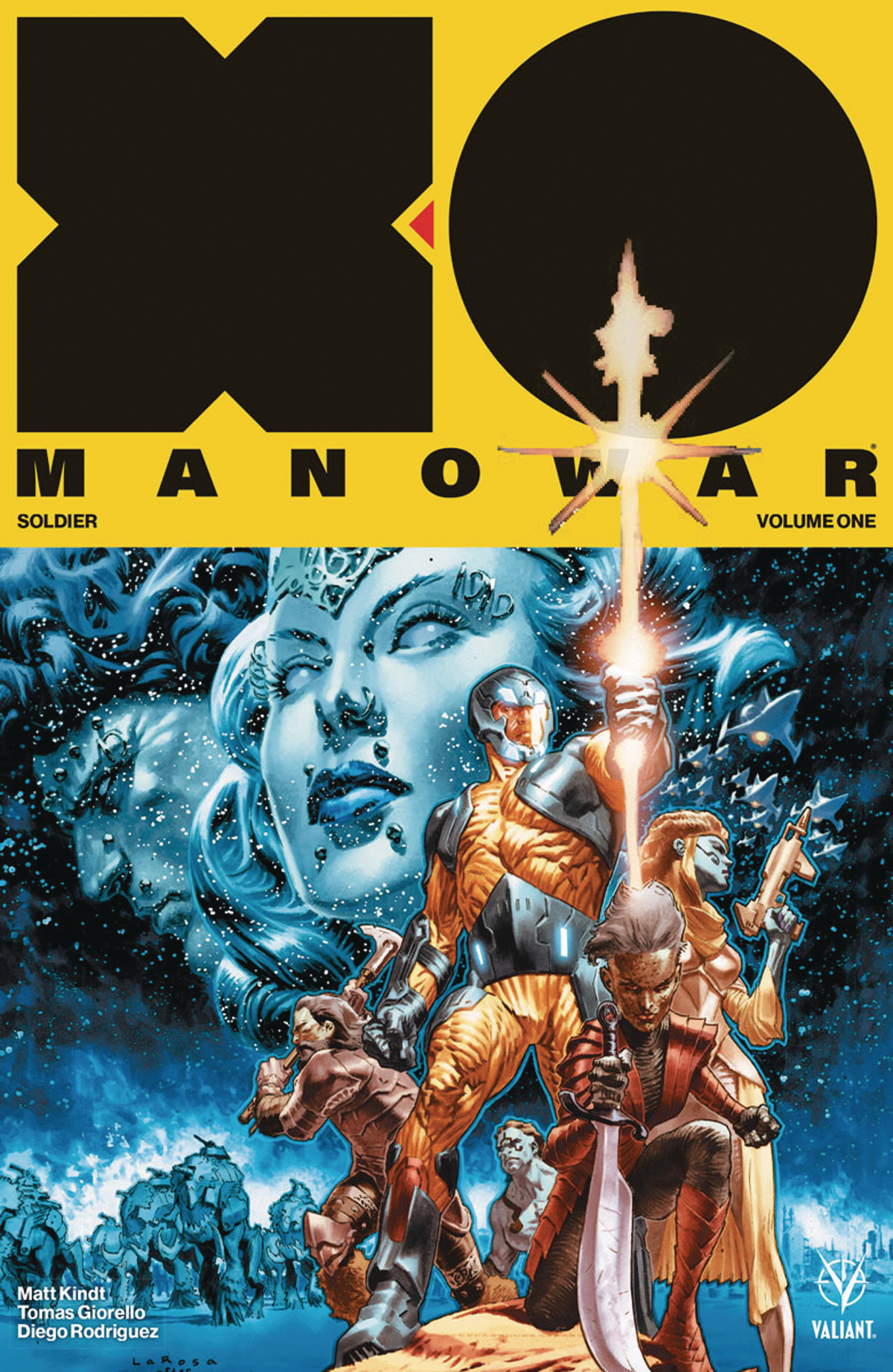 X-O MANOWAR 2017 TP VOL 01 SOLDIER