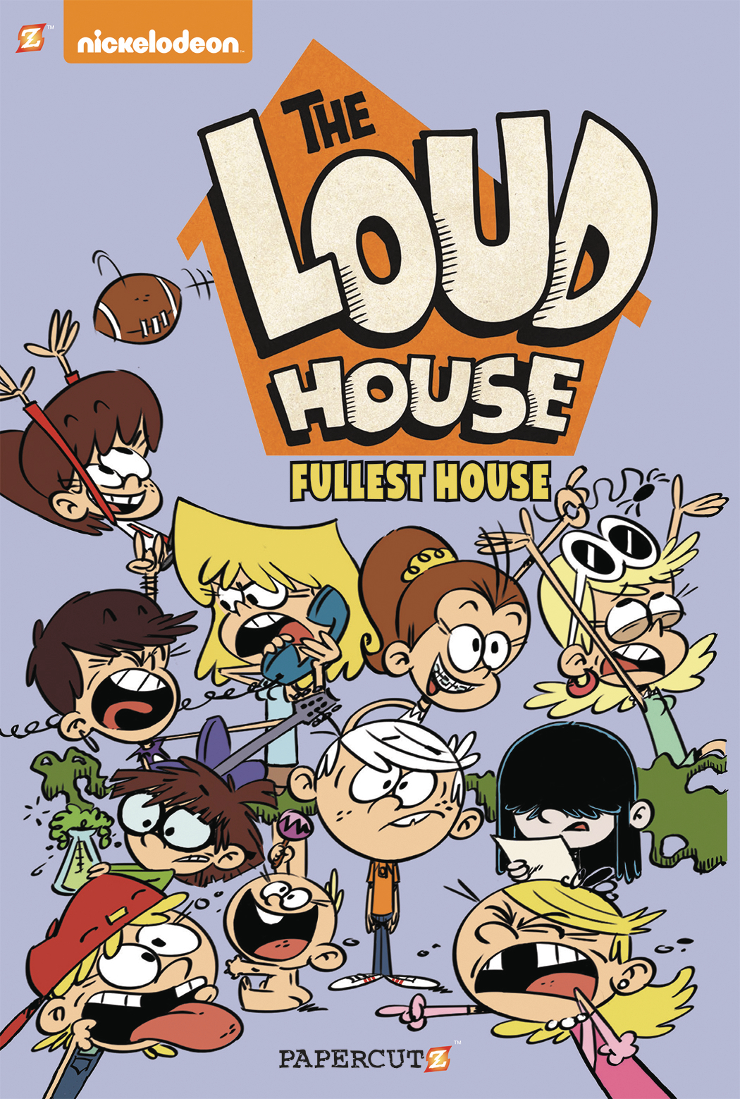 LOUD HOUSE GN VOL 01 THERE WILL BE CHAOS
