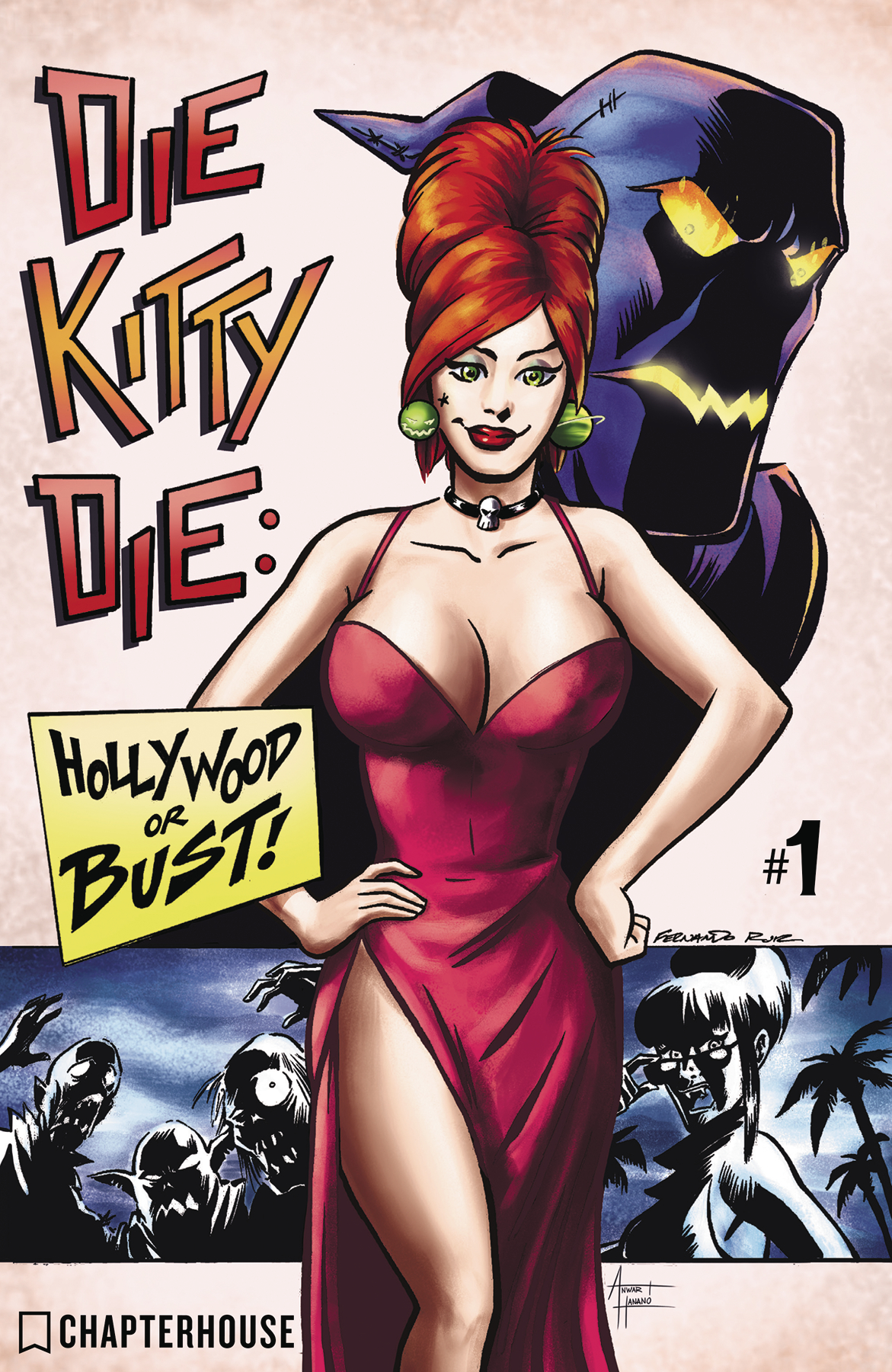 DIE KITTY DIE HOLLYWOOD OR BUST #1 CVR A RUIZ