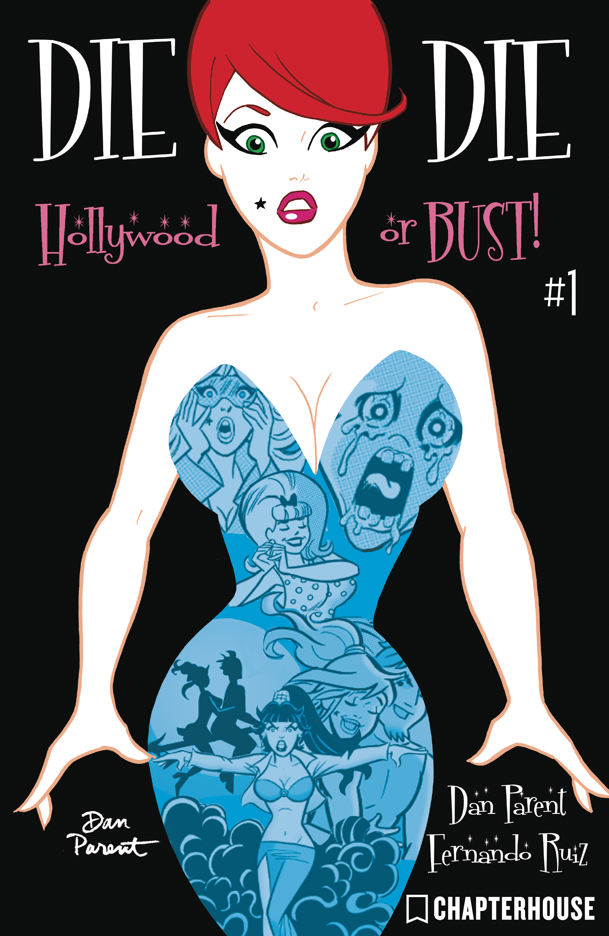 DIE KITTY DIE HOLLYWOOD OR BUST #1 CVR B PARENT