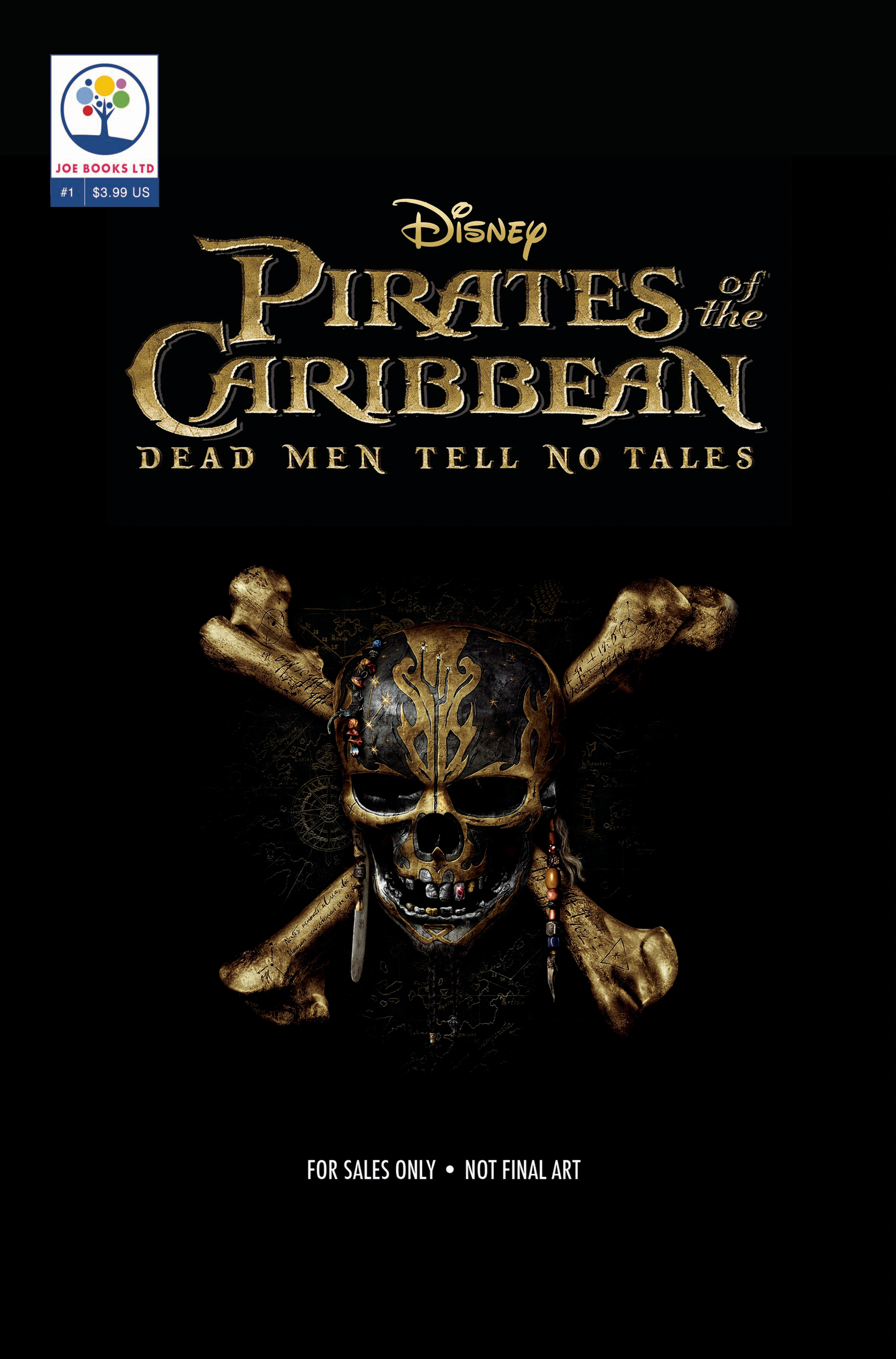 AT THE MOVIES #1 DISNEY PIRATES CARIBBEAN DEAD MEN TALES