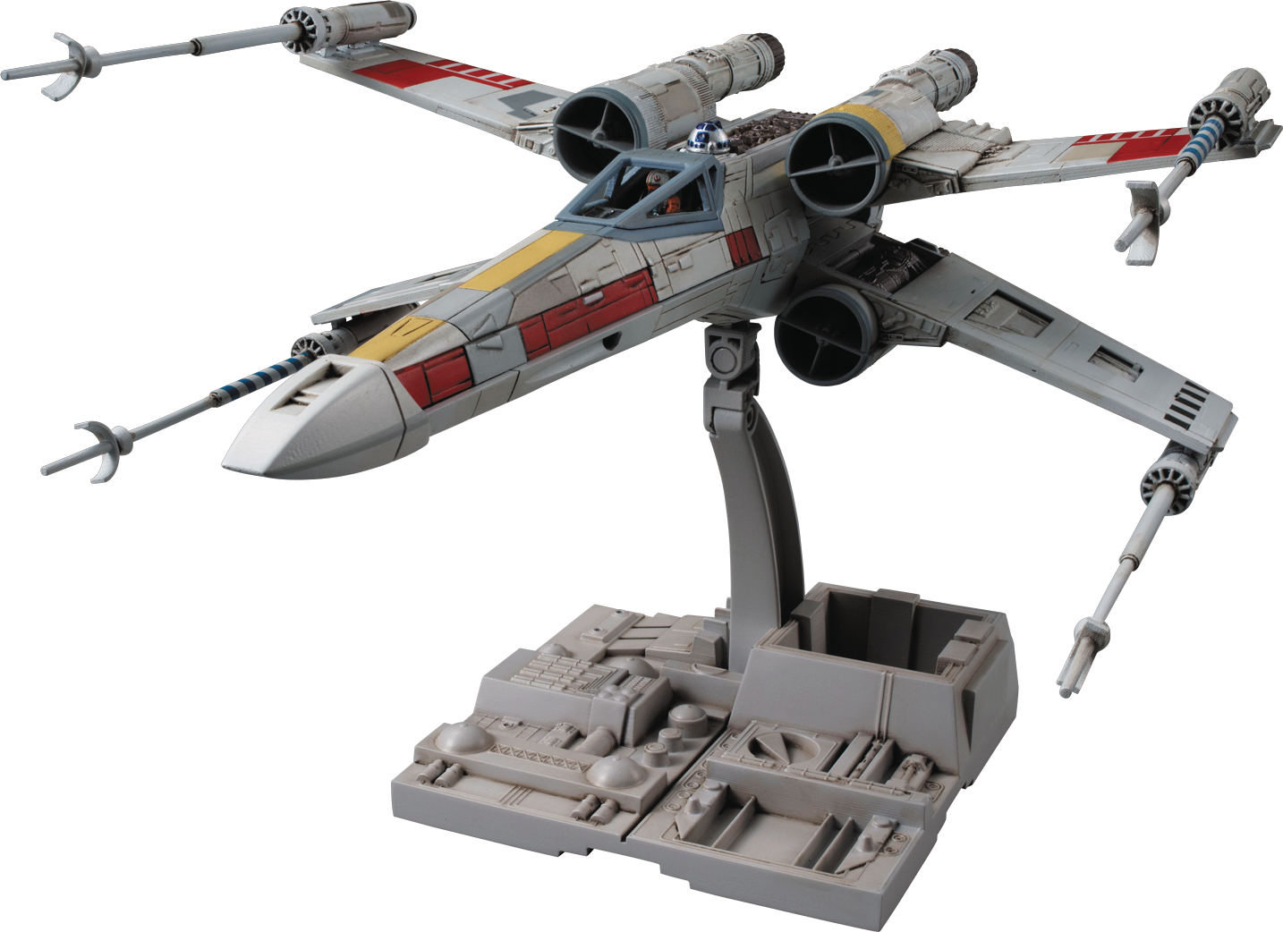 STAR WARS X-WING STAR FIGHTER 1/72 MDL KIT