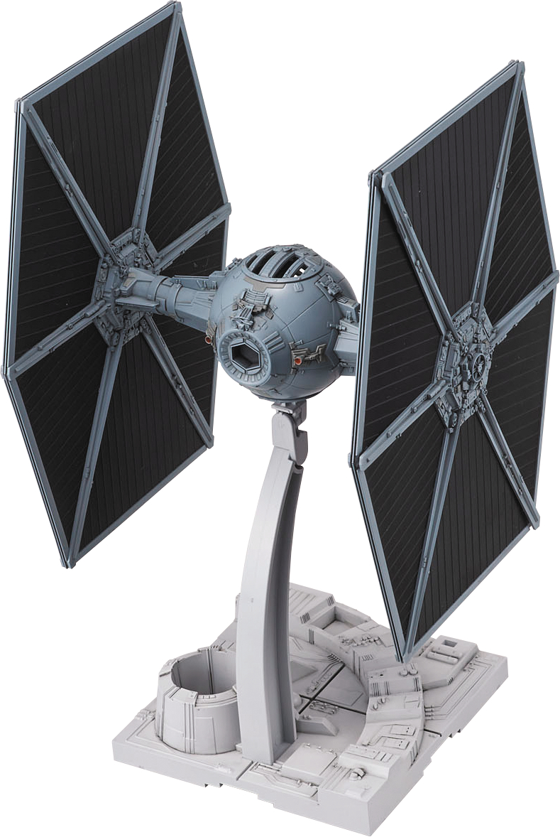 STAR WARS TIE FIGHTER 1/72 MDL KIT