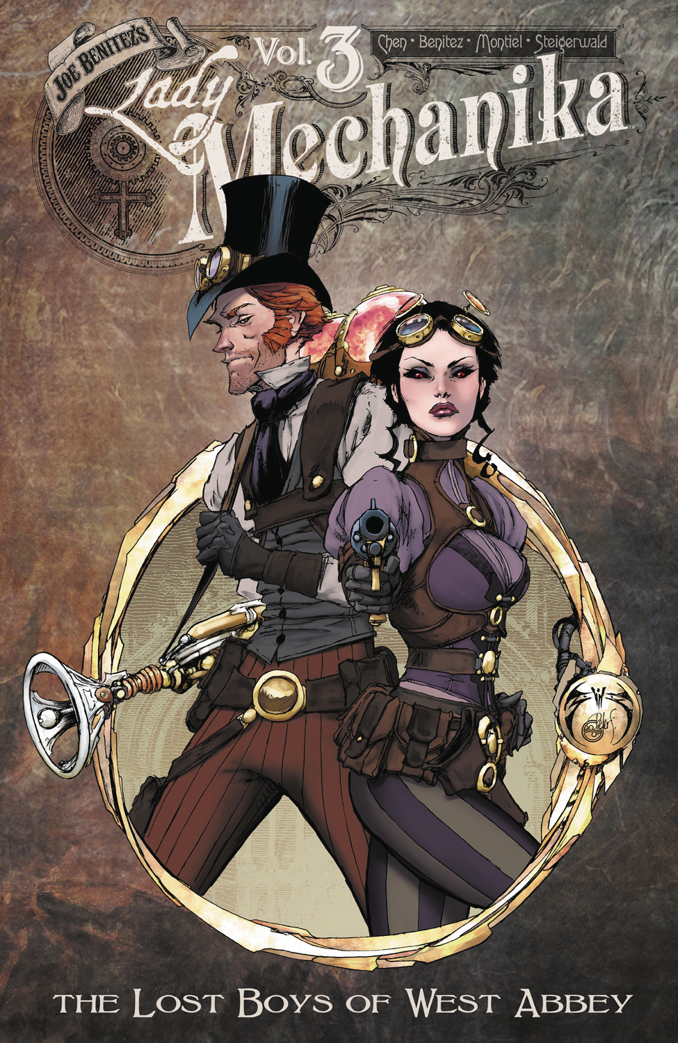 LADY MECHANIKA TP VOL 03 LOST BOYS OF WEST ABBEY