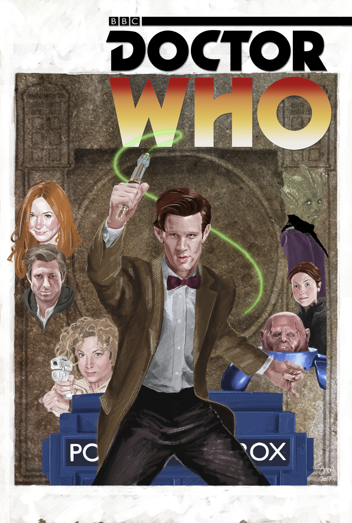 DOCTOR WHO 11TH YEAR THREE #8 CVR C MYERS