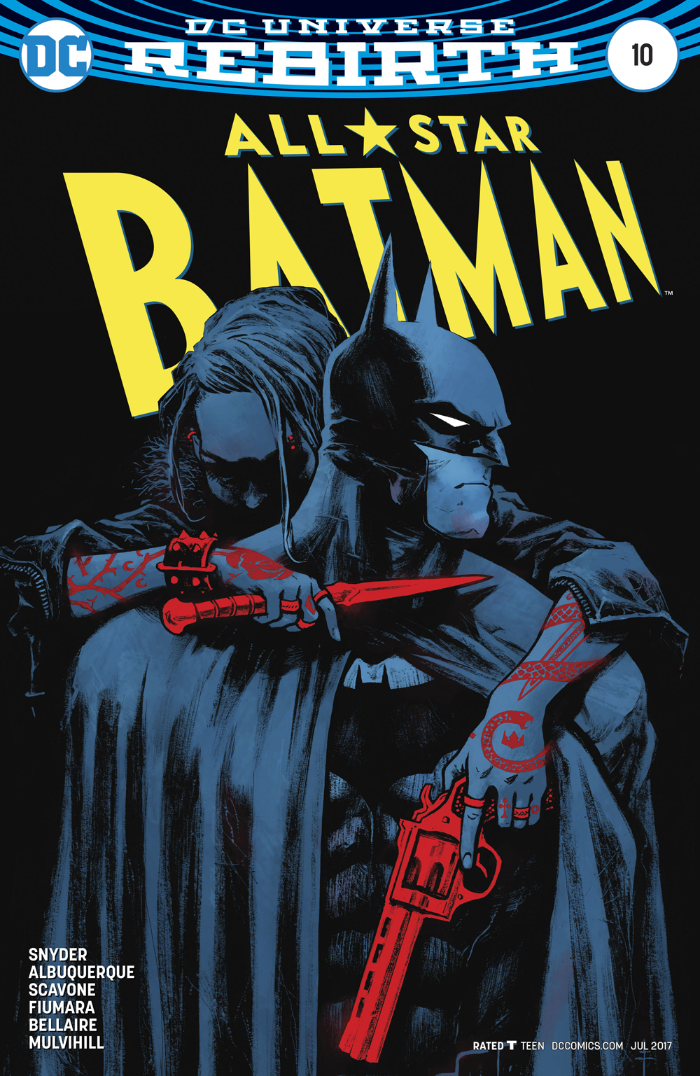 ALL STAR BATMAN #10 FIUMARA VAR ED