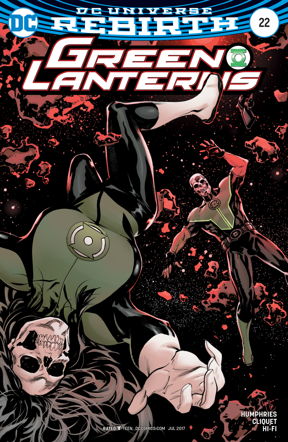 GREEN LANTERNS #22 VAR ED