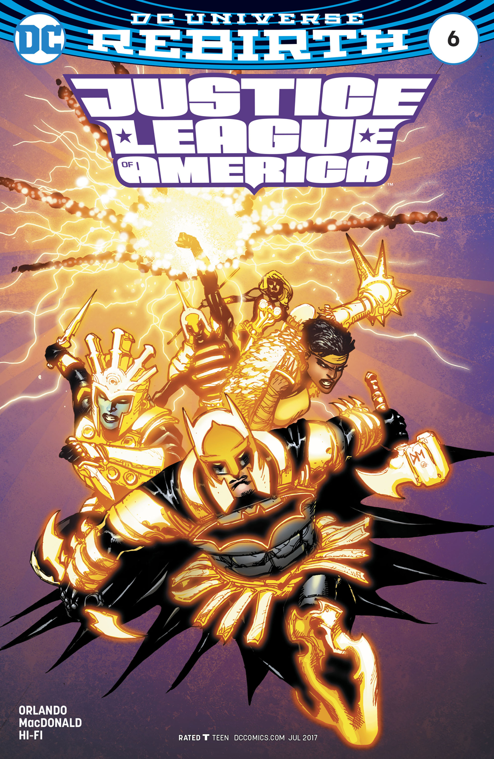 JUSTICE LEAGUE OF AMERICA #6 VAR ED