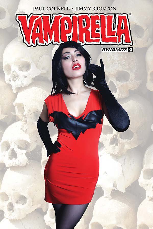 MAR171705 - VAMPIRELLA #3 CVR C COSPLAY - Previews World