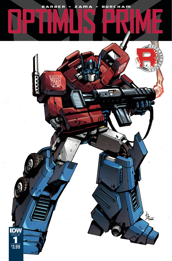 TRANSFORMERS OPTIMUS PRIME TP VOL 01 (MAR170534)
