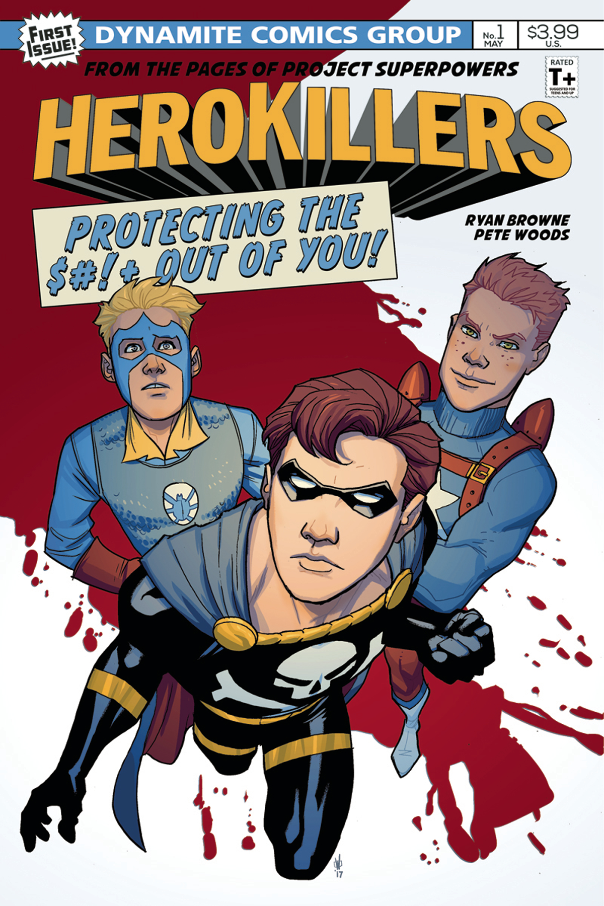 PROJECT SUPERPOWERS HERO KILLERS #1 CVR A WOODS