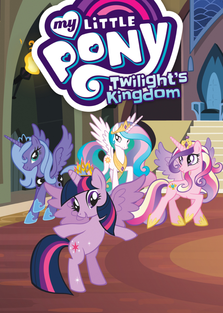 MY LITTLE PONY TP VOL 08 TWILIGHT KINGDOM