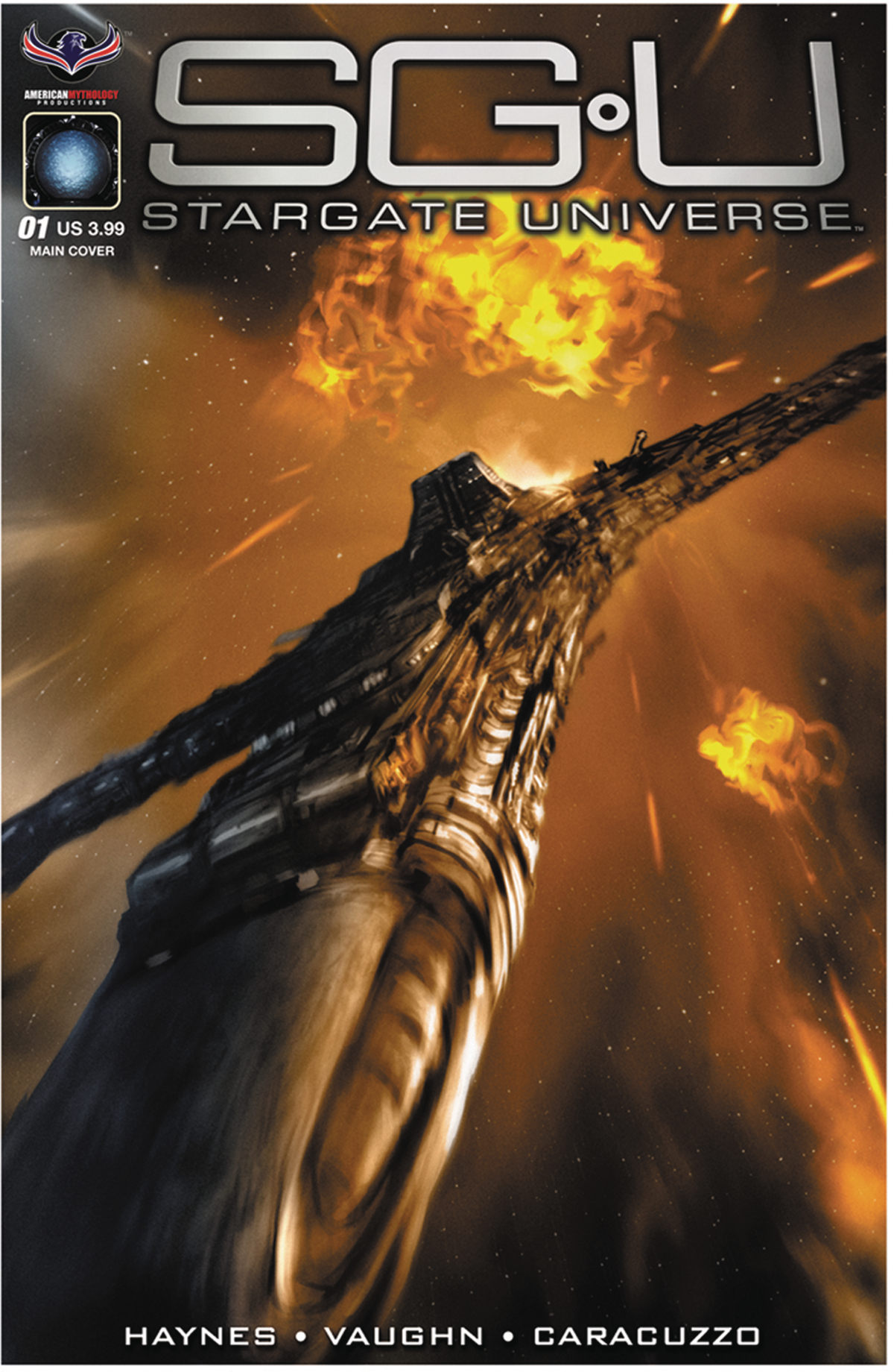 STARGATE UNIVERSE BACK TO DESTINY #1 SCALF CVR