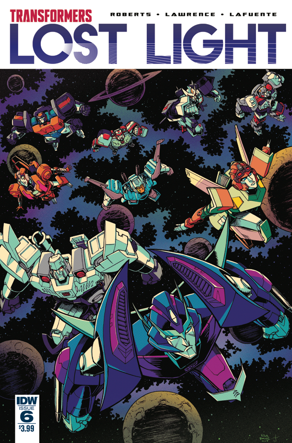TRANSFORMERS LOST LIGHT #6 SUBSCRIPTION VAR A
