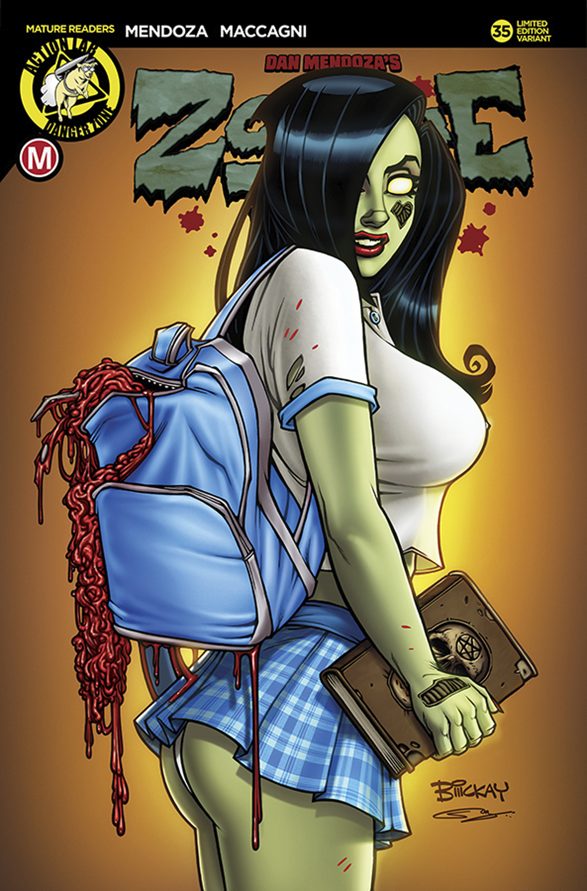 ZOMBIE TRAMP ONGOING #35 CVR C MCKAY SCHOOLGIRL (MR)