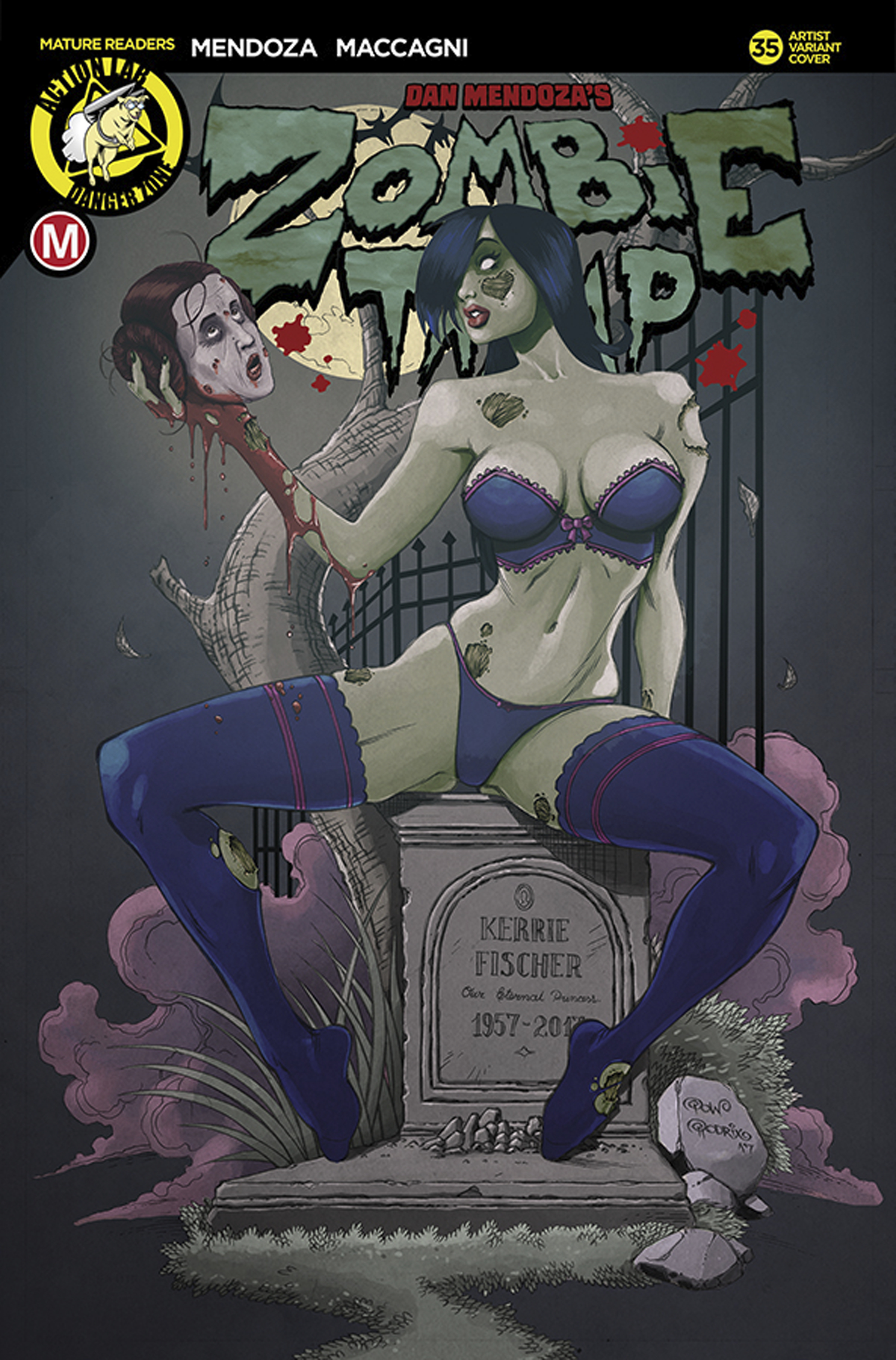 Zombie and porn